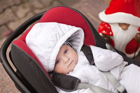 for children in car seats snowsuits bunting can pose a