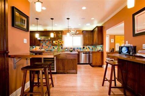 Orange Kitchen Wallpaper by 14