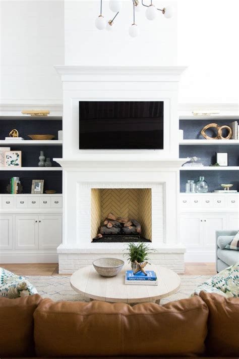 white fireplace brick best 20 white brick fireplaces ideas on white