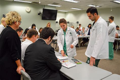 Mba No Cus Visit by Michigan State College Of Osteopathic Medicine