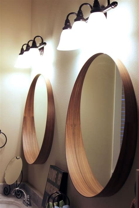 funky bathroom mirrors our bedroom tour the ikea stockholm mirror makes for the perfect his and her