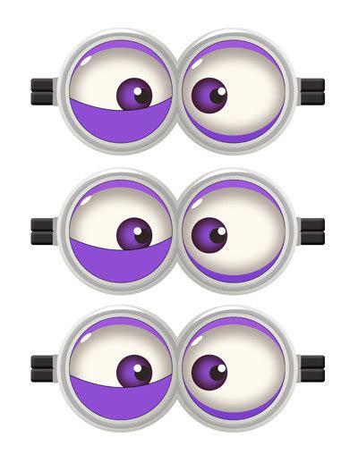 Printable Purple Minion Eyes | minion minion movie minion eyes evil purple minion