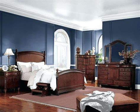 blue  brown bedrooms decor designs bedroom