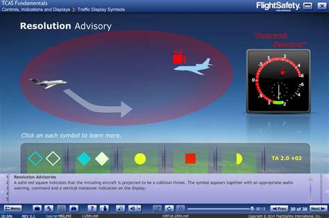 tcasacas elearning flightsafety international