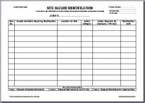 ohs incident report template free ohs documents australia report forms