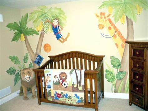 Baby Nursery Jungle Theme by 20 Adorable Themed Nursery Ideas