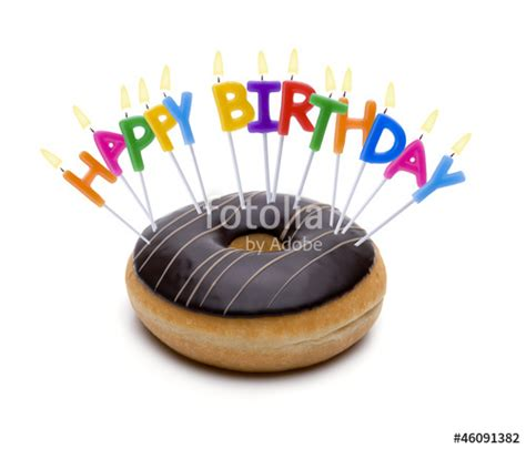 Happy Birthday Doughnuts by Quot Happy Birthday Donut Quot Stock Photo And Royalty Free Images