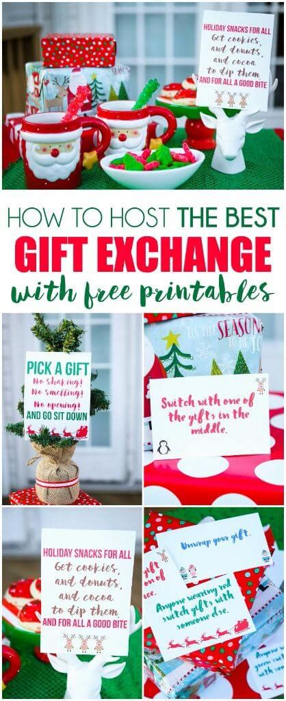 christmas exchange gifts for adults free printable exchange cards for the best gift exchange