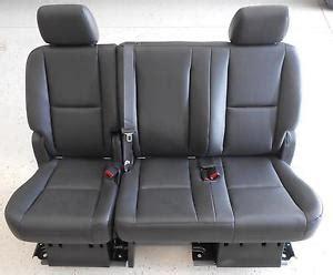2013 tahoe captain chairs 2nd row seats ebay