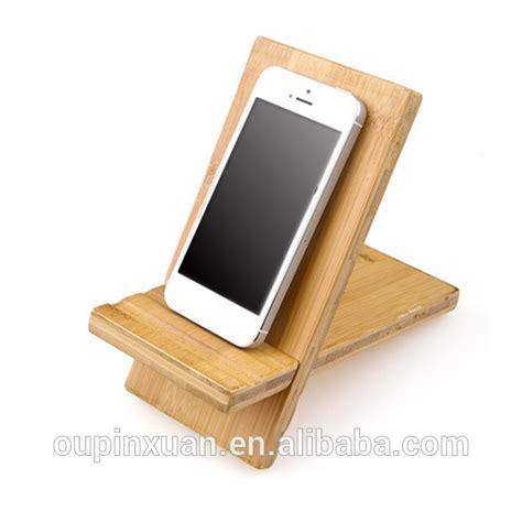 3 slot charging station station bamboo wood phone