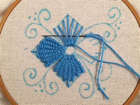 embroidery design tutorial feeling stitchy mooshiestitch monday kamal kadai stitch