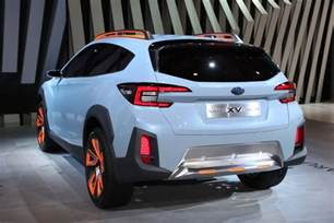 Subaru Crosstrek Modified Subaru Xv Concept Previews Next Crosstrek