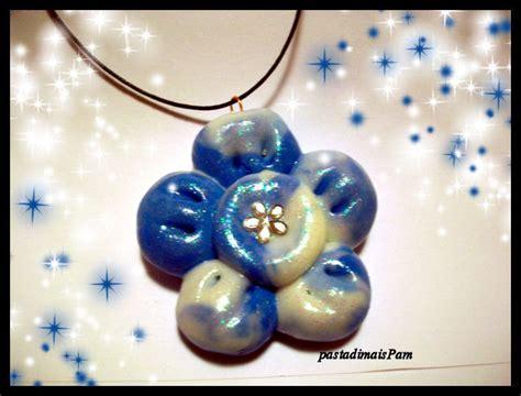 fiore fimo collana con fiore in fimo gioielli collane di