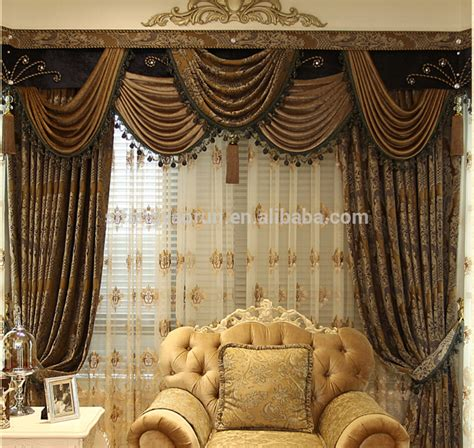 arabic curtains new style european design elegant polyester window arabic