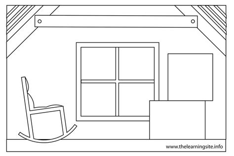 printable coloring pages rooms house the learning site