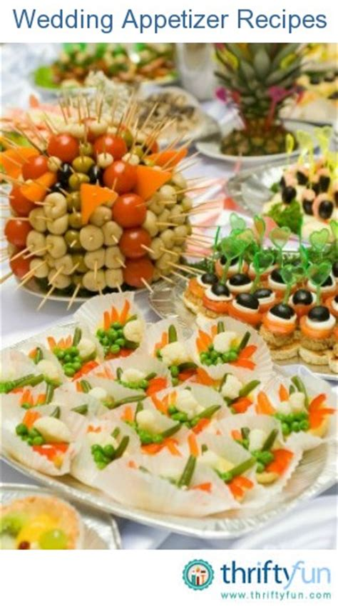 Appetizers For Wedding Reception Recipes by Wedding Appetizer Recipes Thriftyfun