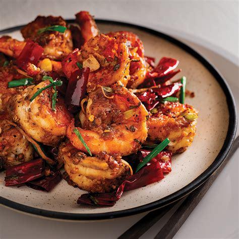 sichuan chilli prawns marions kitchen
