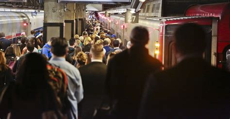 ny times metro section delays drag on amid repairs to train tracks damaged by