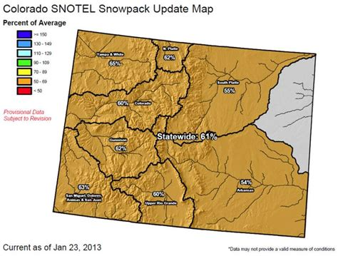 snotel colorado snowpack map colorado snowpack the situation is pretty grim right now