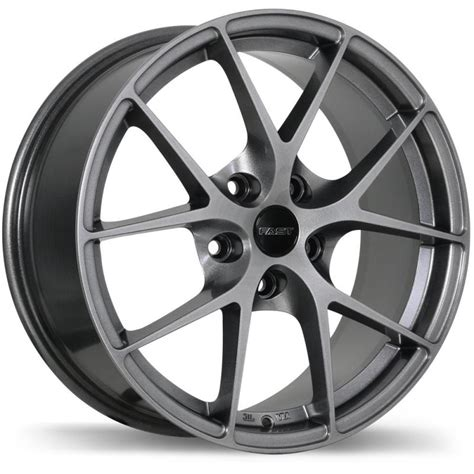 Wheels Fast fast wheels innovation titanium 17x7 5 5 114 3 offset 35