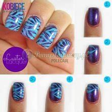 Nail Water Marble Swirl Design Spirale