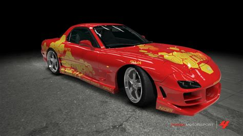 mazda rx7 fast and furious mazda rx 7 2 fast 2 furious by outcastone on deviantart