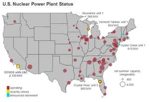 list of the largest nuclear power stations in the united