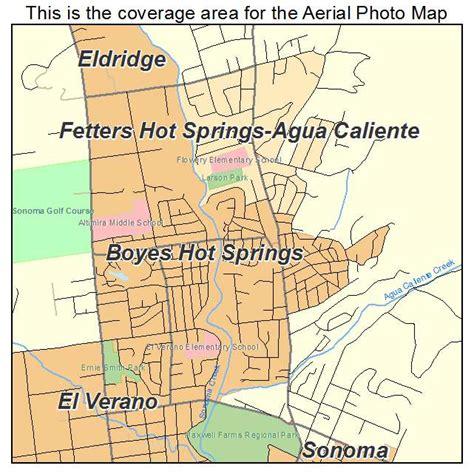 springs california map aerial photography map of boyes springs ca california