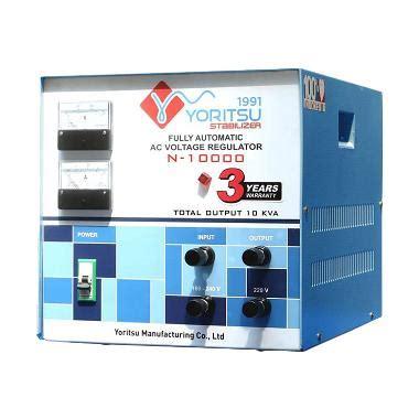 Yoritsu Stabilizer Digital 7 5 Kva jual voltage stabilizer 3 phase harga promo
