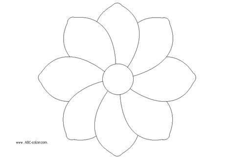 coloring pages of small flowers small flower colouring