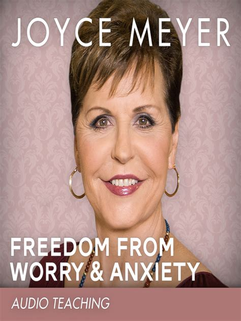 joyce meyer en espaol 2015 freedom from worry and anxiety toronto public library