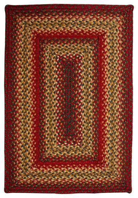Rectangle Area Rugs by Cider Barn Braided Jute Rectangle Rug Area Rugs By