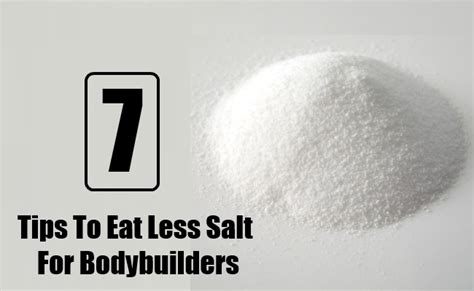 Tips To Eat Out For Less by 7 Smart Tips To Eat Less Salt For Bodybuilders