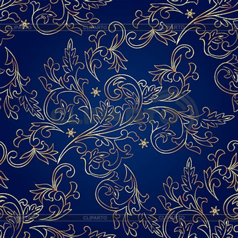 Id 82 Blue Flower бесшовные текстуры орнаменты серия изображений cliparto