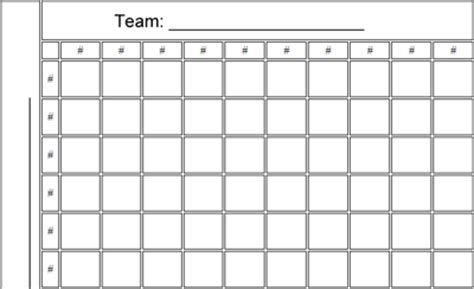 free football square template football squares graph new calendar template site