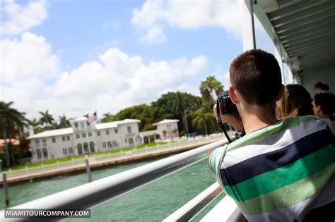 celebrity house tours miami boat tour of the celebrity homes