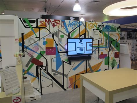 The Office Mural by Graffiti Artists For Hire Office Space