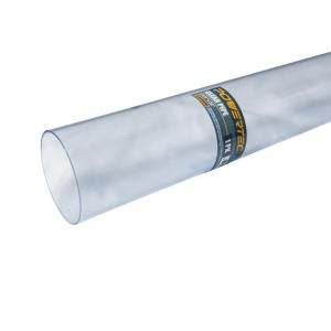 Clear Tubing Home Depot by Powertec 2 1 2 In X 36 In Yw0915 Clear Pipe 70176