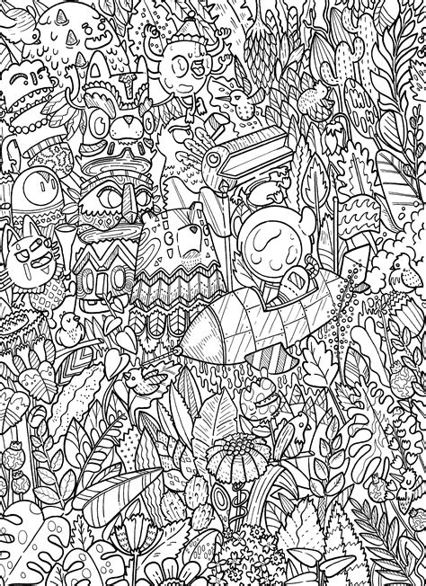 doodle coloring book doodle coloring book doodles in outer space coloring