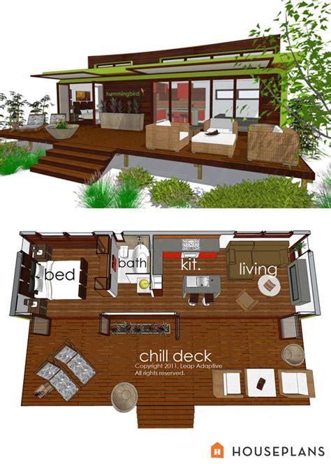 Planos De Casas Peque 241 As Conceptos Sobre El Dise 241 O Small House Plans With Deck