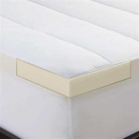 xl memory foam mattress topper sleep innovations 2 inch memory foam mattress topper and waterproof mattress pad xl pet