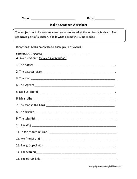 free printable handwriting worksheets with sentences free writing sentences worksheets worksheets for all