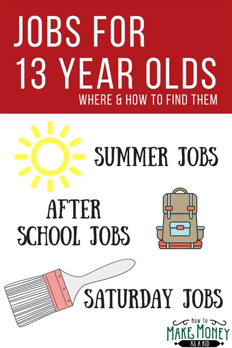 Ways For 13 Year Olds To Make Money Online - where jobs for 13 year olds are how to get them