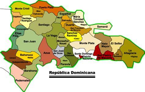 mapa de republica dominicana mapa de la rep 250 blica dominicana rep 250 blica dominicana