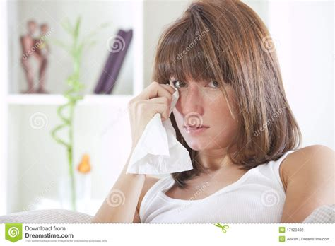 crying in bed crying woman in bed stock photography image 17129432
