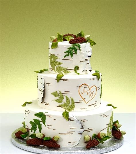Hochzeitstorte Natur by Ultimate Nature Wedding Cake Awesome Nature Wedding