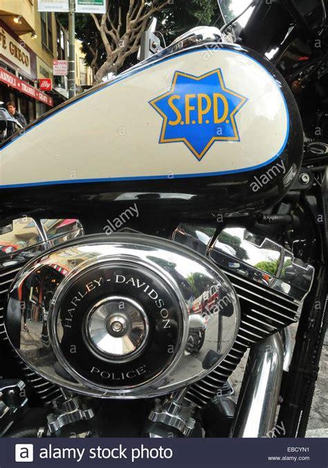 Harley Davidson Police Motorrad by Harley Davidson Police Motorcycle Stockfotos Harley