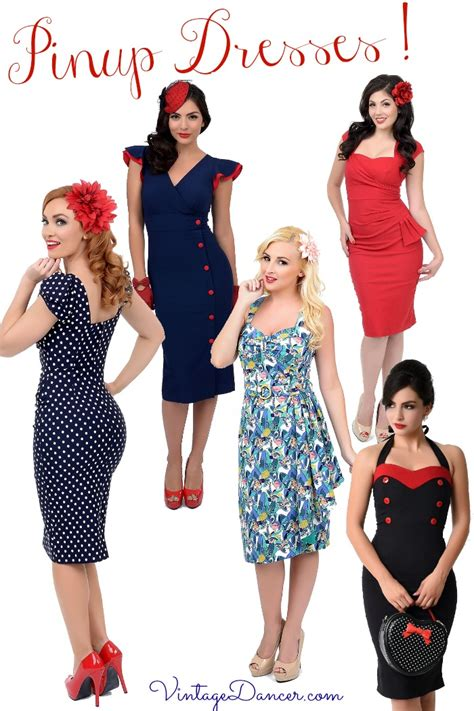 Pinup Style Wedding Dresses by Vintage Style 1940s Pin Up Dresses