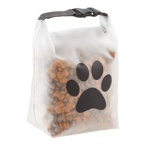 food bag blue avocado reusable pet food storage bag the container store