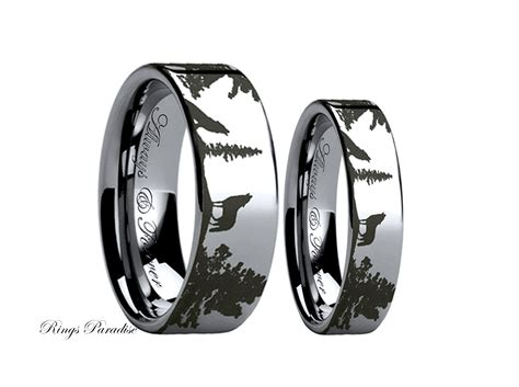 Wedding Ring Band Sets by His And Hers Promise Rings Wedding Promise